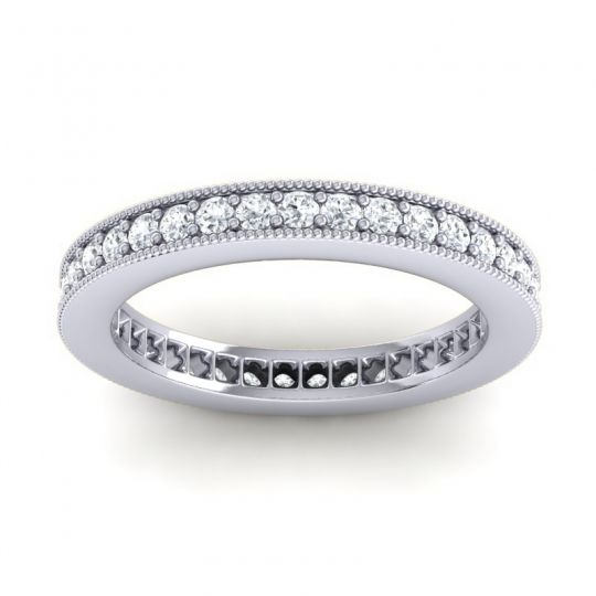 Diamond Eternity Zani Band in 14k White Gold
