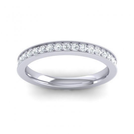 Diamond Eternity Anuyana Band in 14k White Gold