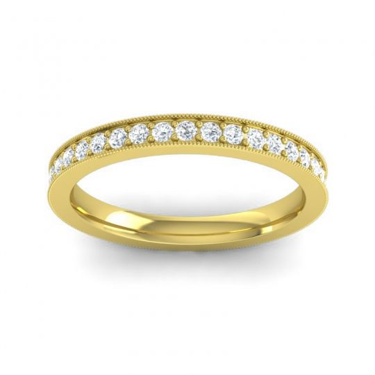 Diamond Eternity Anuyana Band in 18k Yellow Gold