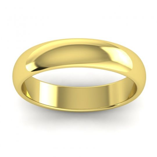 Polished Baliza Ring in 14k Yellow Gold
