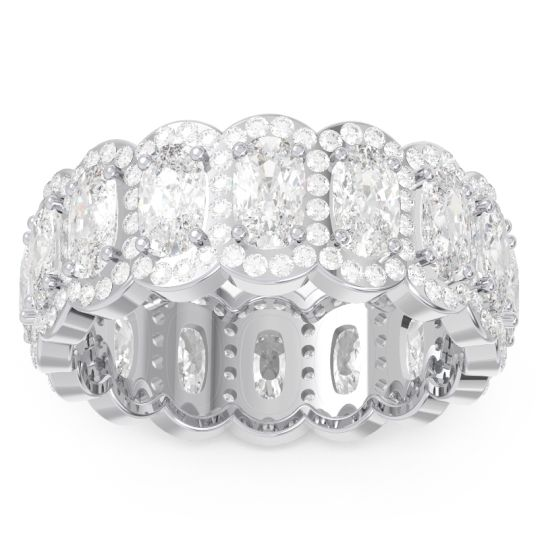 Eternity Uddanta Diamond Band in 14k White Gold