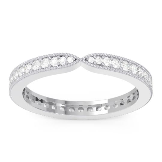 Eternity Parisrta Diamond Band in 14k White Gold