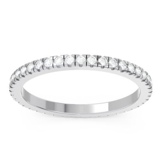 Diamond Eternity Pave Kona Band in Platinum