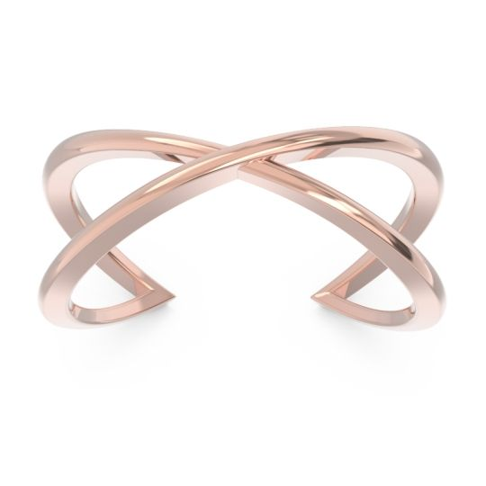 Petite Modern All-Metal Svastha Ring