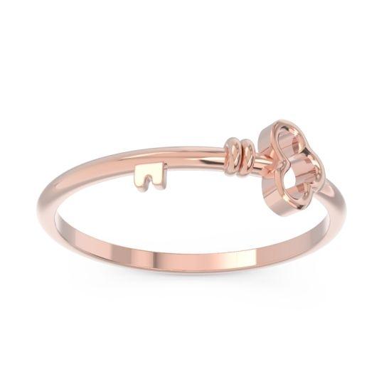 Petite Modern All-Metal Kujcika Ring