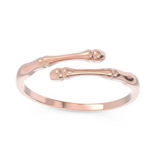 Petite Modern Open Asthi Ring