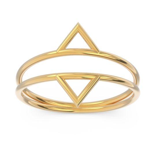 Petite Modern All-Metal Vyeti Ring