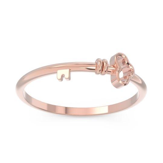 Petite Modern All-Metal Tallika Ring