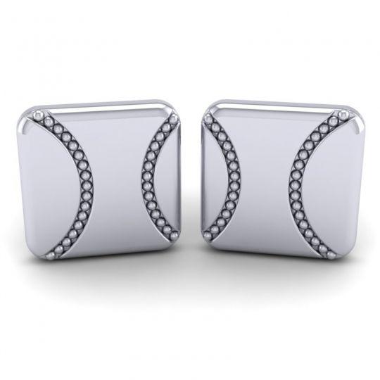 Nayati White Gold Cufflinks