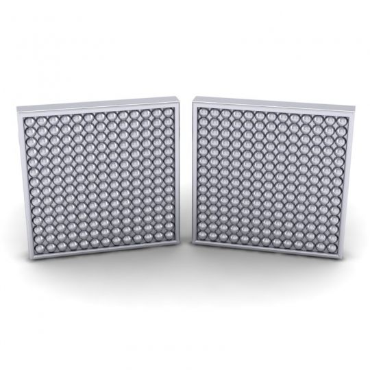 Bhrastra White Gold Cufflinks